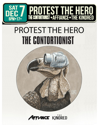 PROTEST THE HERO * THE CONTORTIONIST * AFFIANCE & THE KINDRED