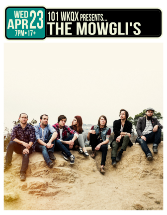 101WKQX Presents: THE MOWGLI'S * MISTERWIVES * FINISH TICKET