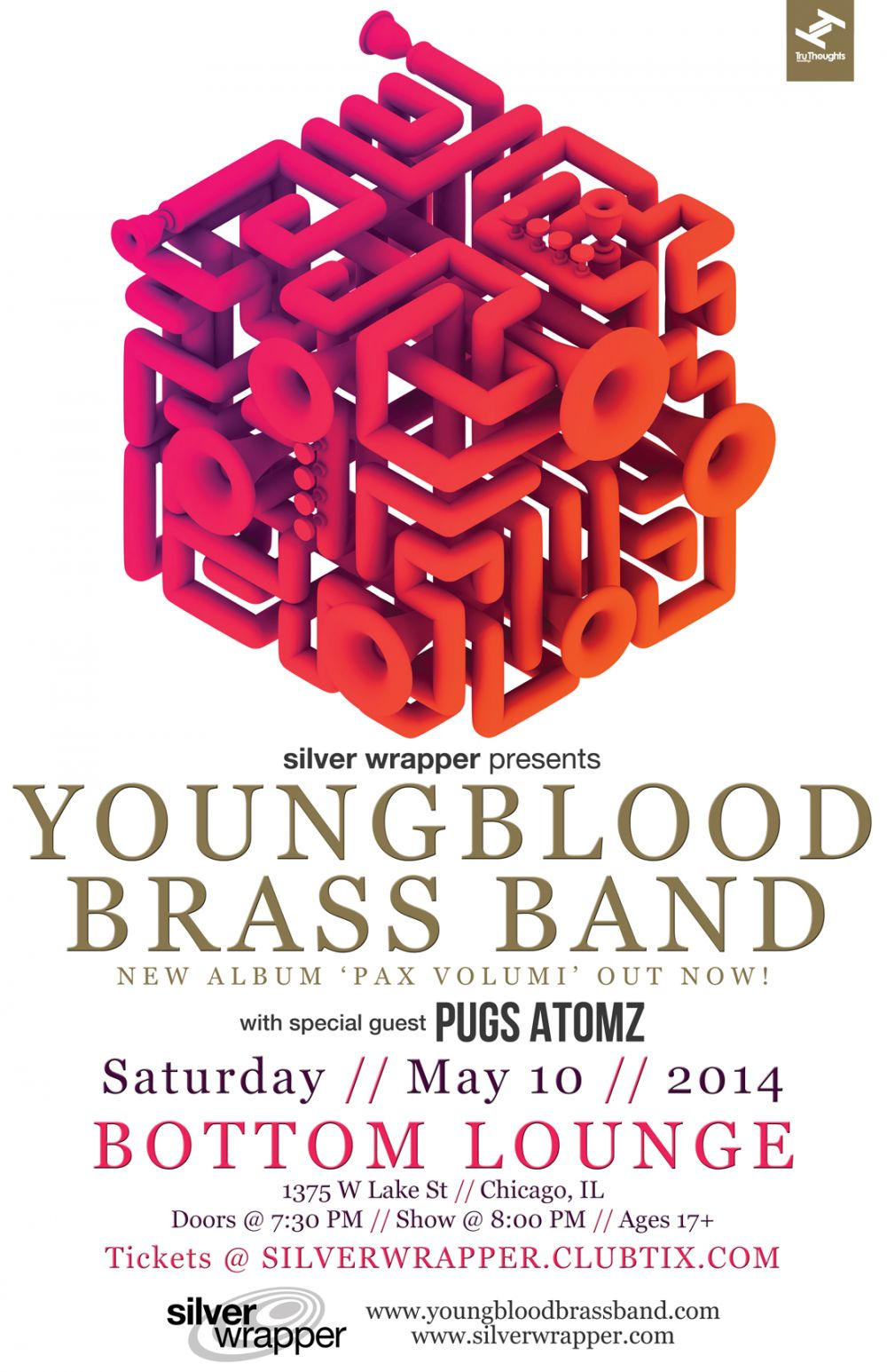 YOUNGBLOOD BRASS BAND * PUGS ATOMZ
