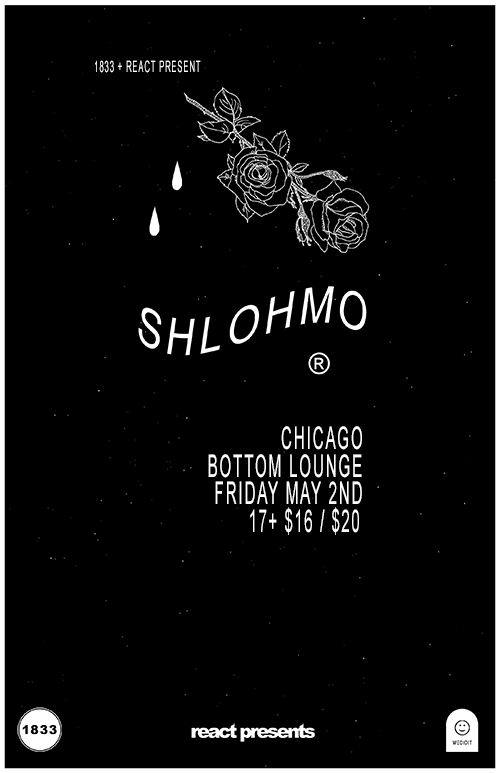 1833 + React Present: SHLOHMO * JIM-E STACK * D33J