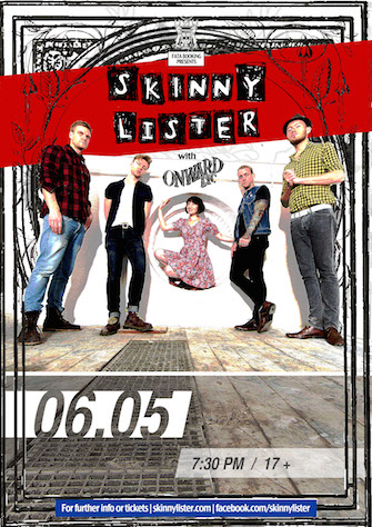 SKINNY LISTER * ONWARD, ETC.
