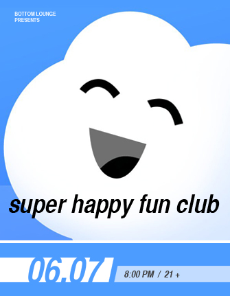 SUPER HAPPY FUN CLUB * MARK ROSE * ALMOST FINLEY * CRISIS IDENTITY