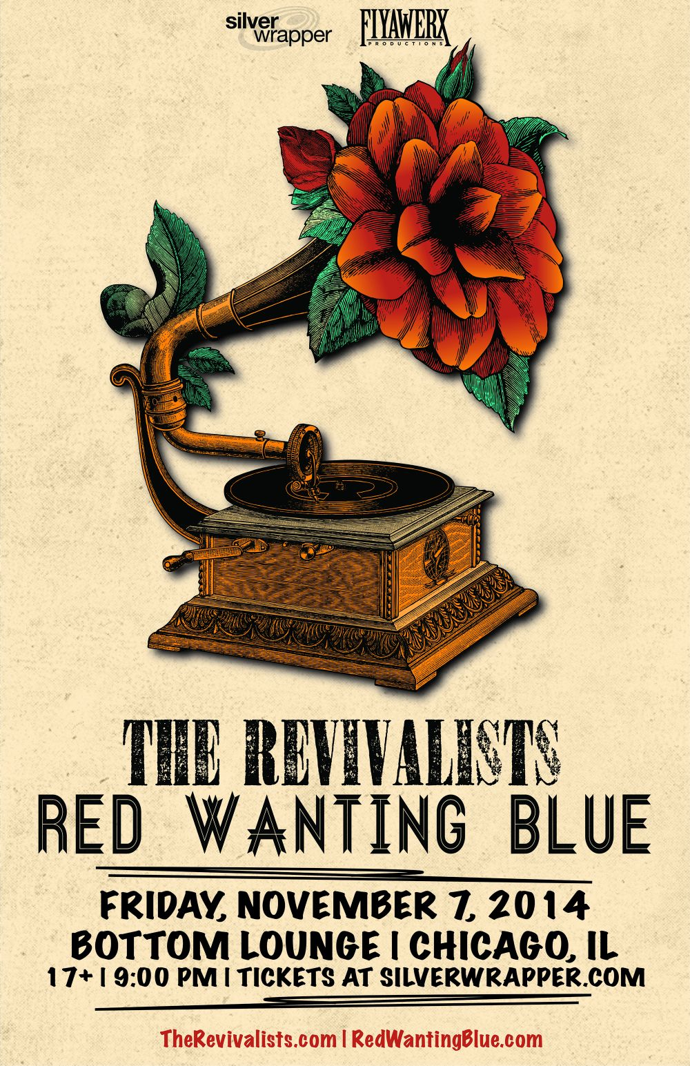 THE REVIVALISTS * RED WANTING BLUE