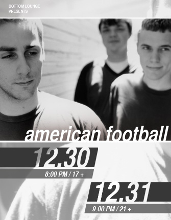 CHIRP Welcomes: AMERICAN FOOTBALL with BRAID