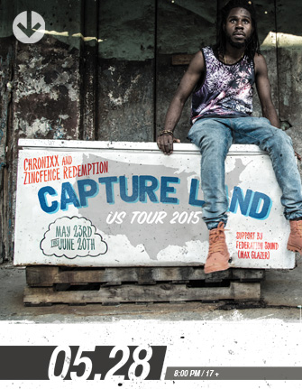 CHRONIXX AND THE ZINCFENCE REDEMPTION * FEDERATION SOUND