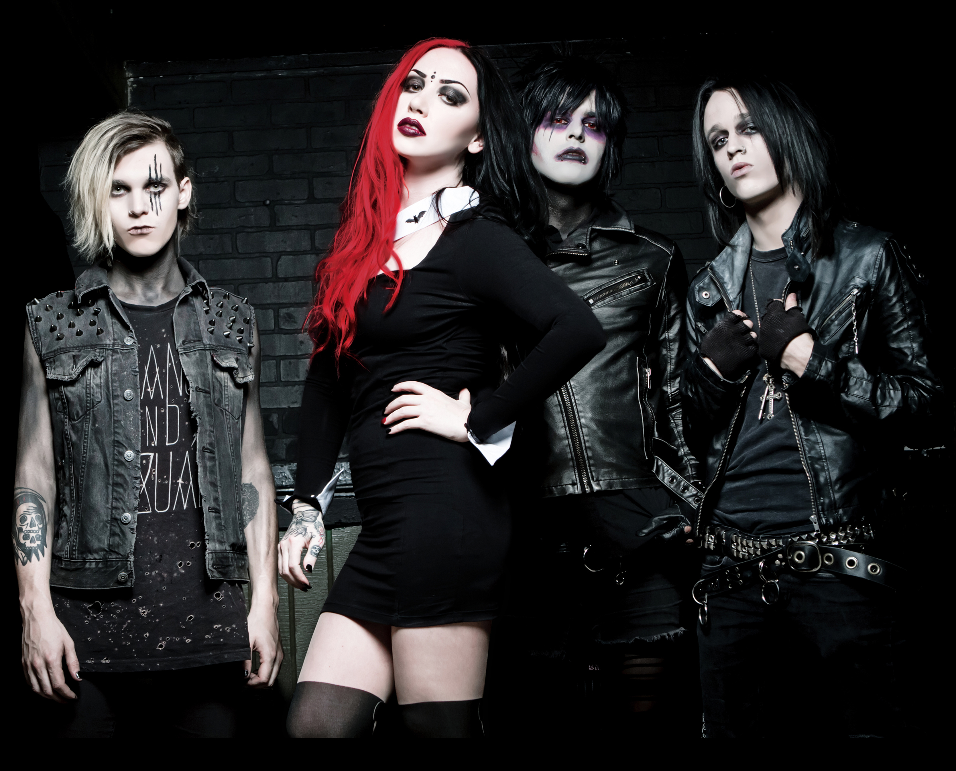 NEW YEARS DAY * GET SCARED * EYES SET TO KILL * THE ...