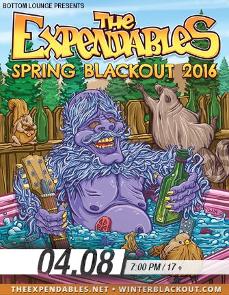 THE EXPENDABLES: Spring Blackout 2016