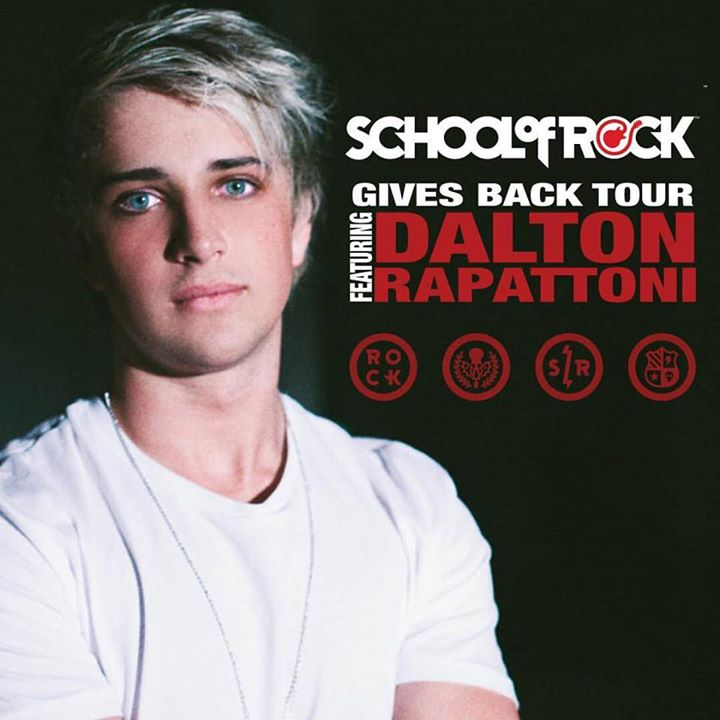 School of Rock Gives Back Tour Featuring Dalton Rapattoni