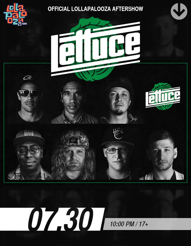Official Lollapalooza Aftershow with LETTUCE