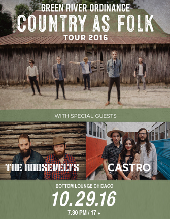 GREEN RIVER ORDINANCE * THE ROOSEVELTS * CASTRO