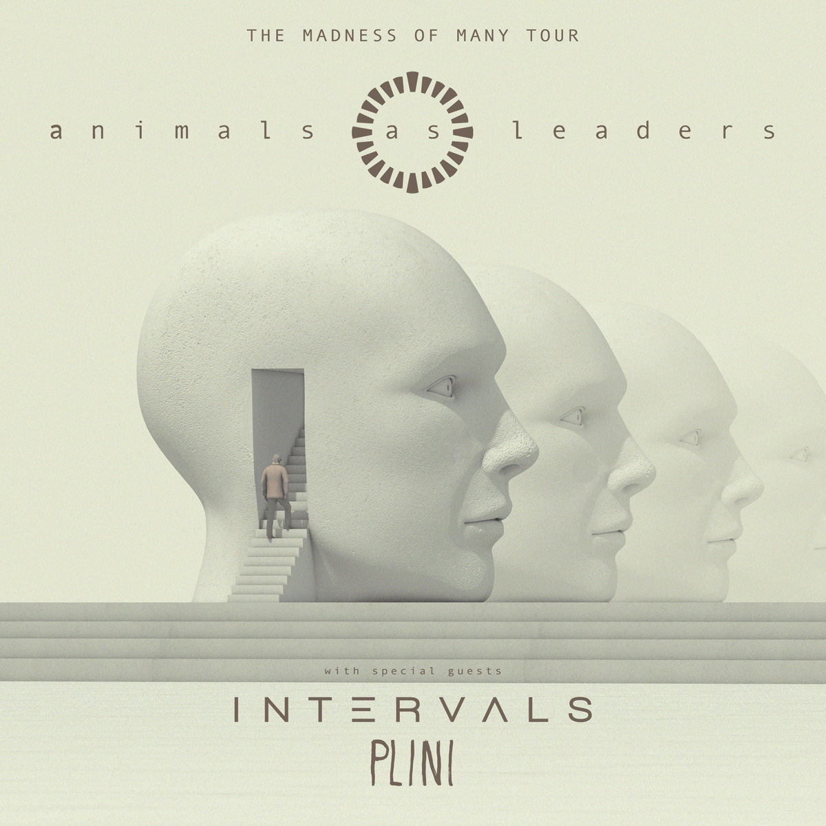 ANIMALS AS LEADERS * INTERVALS * PLINI