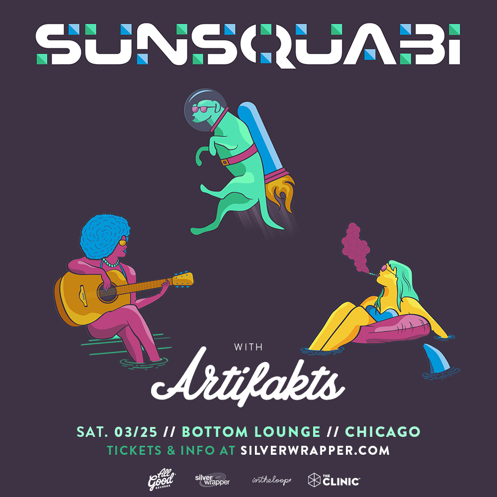 Silver Wrapper Presents: SUNSQUABI * ARTIFAKTS