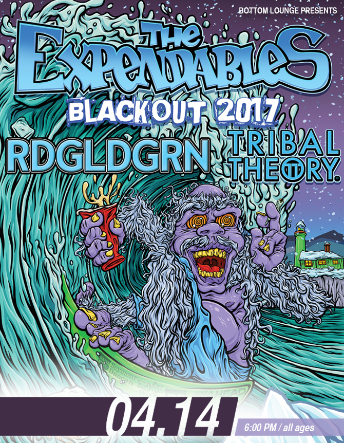 THE EXPENDABLES * RDGLDGRN * TRIBAL THEORY