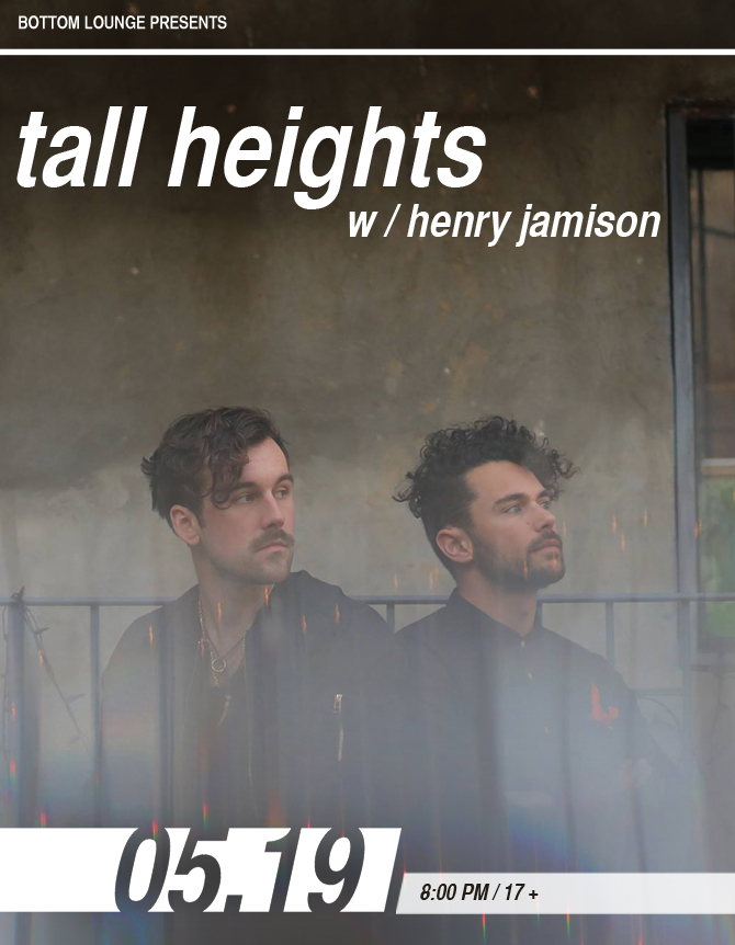 TALL HEIGHTS * HENRY JAMISON