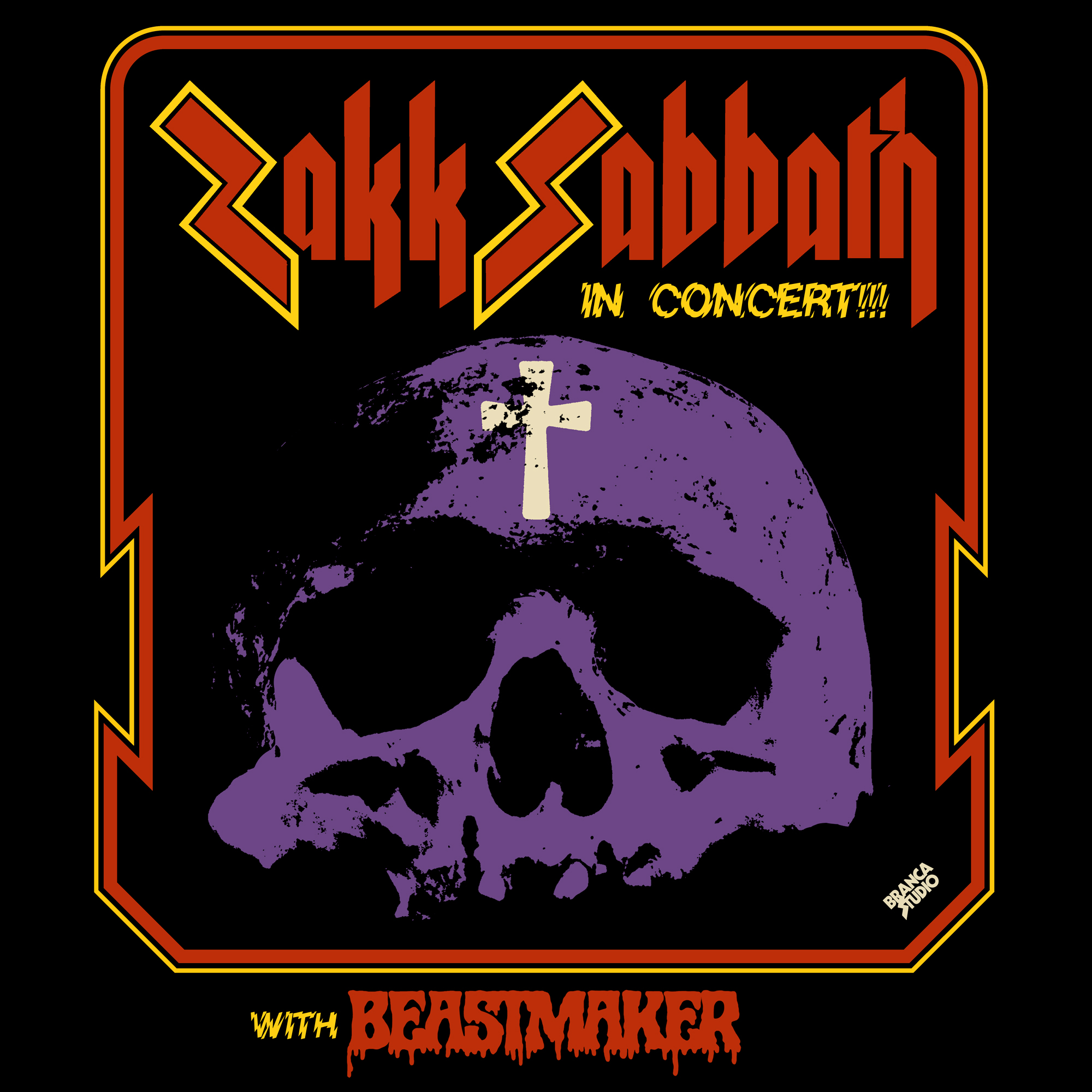 SOLD OUT! – ZAKK SABBATH * BEASTMAKER
