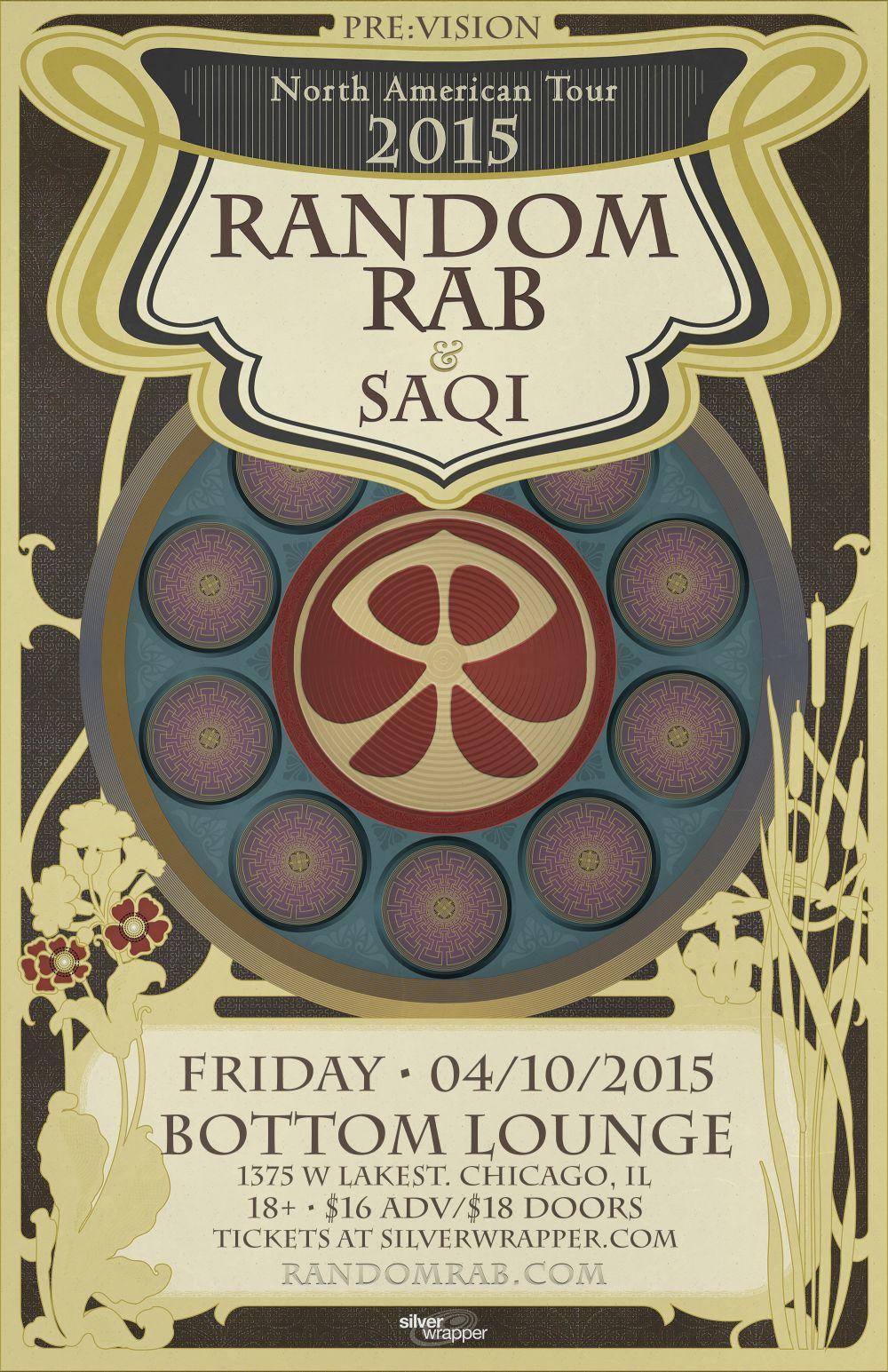 Random Rab Saqi Upstairs Bottom Lounge Chicago