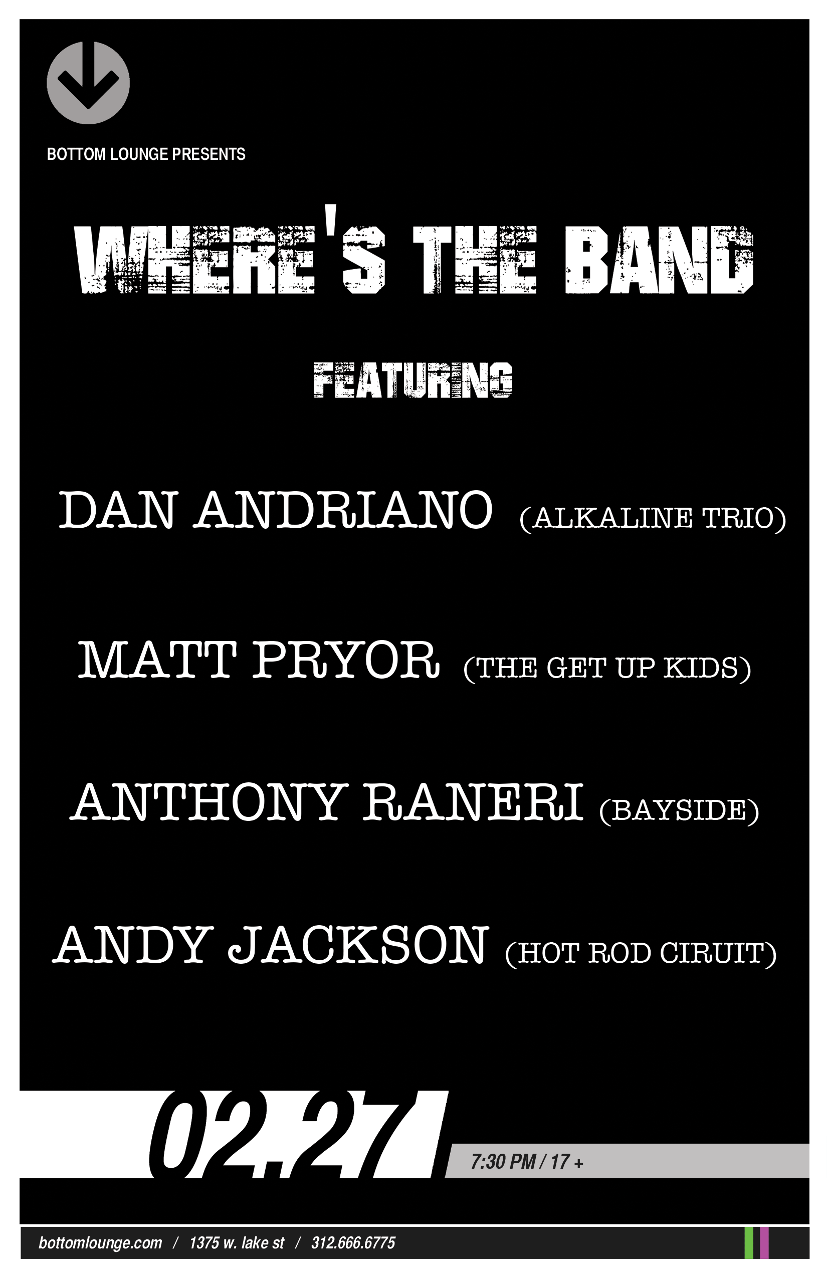WHERE'S THE BAND?