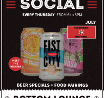 July Bottom Lounge Beer Social: Revolution Brewing