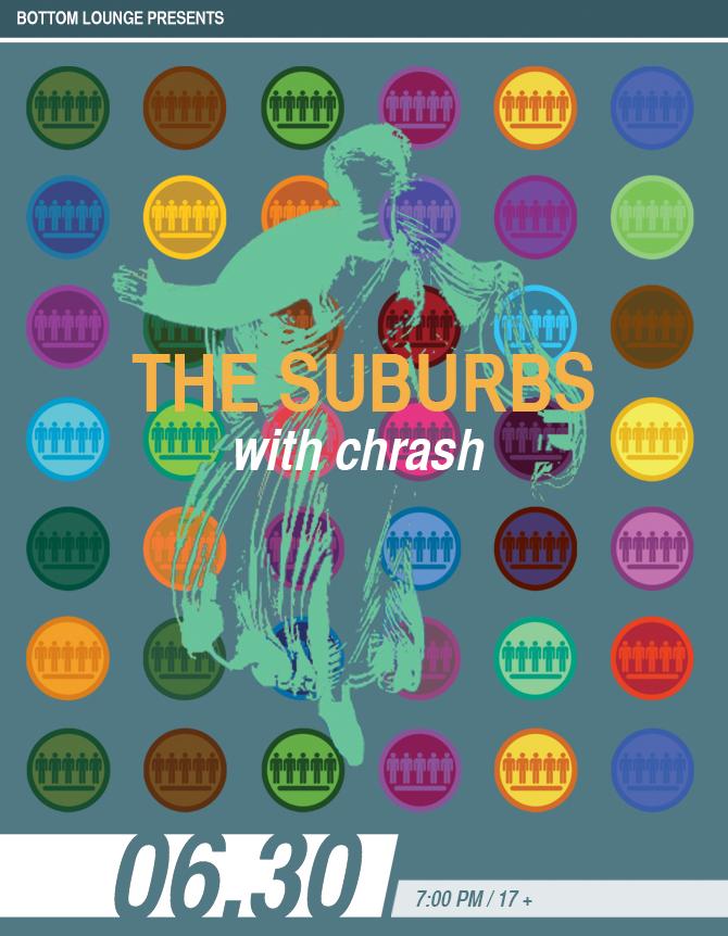 THE SUBURBS * CHRASH