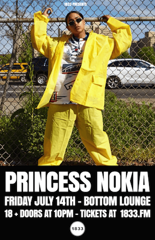 1833 Presents: PRINCESS NOKIA