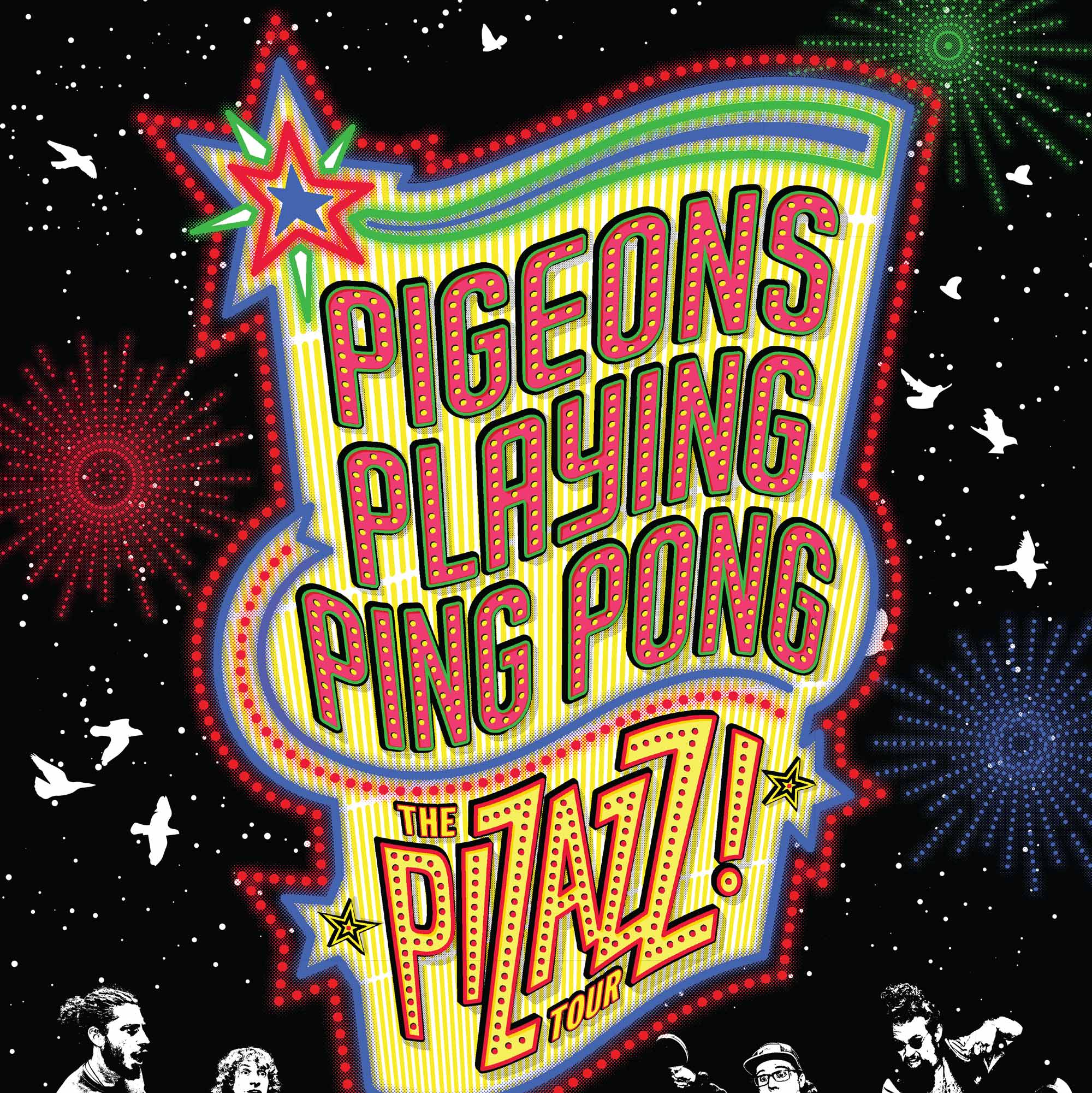 Silver Wrapper Presents: PIGEONS PLAYING PING PONG * FLAMINGOSIS