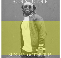 SOLD OUT! – React Presents: T-PAIN: The Acoustic Tour with SMINO