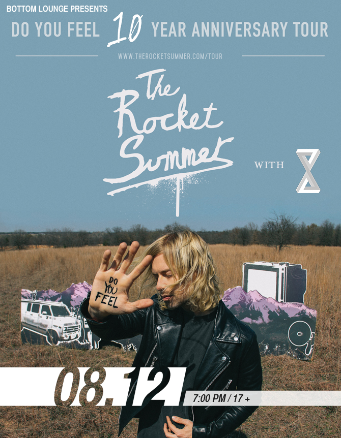 The Rocket Summer - DO YOU FEEL 10 Year Anniversary Tour with 888