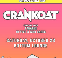 React Presents: CRANKDAT * STRATUS * HI FIVE & WHO CARES