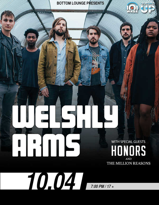 101WKQX Queued Up Artist Showcase: WELSHLY ARMS with HONORS