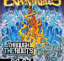 THE EXPENDABLES * THROUGH THE ROOTS * PACIFIC DUB * AMPLIFIED