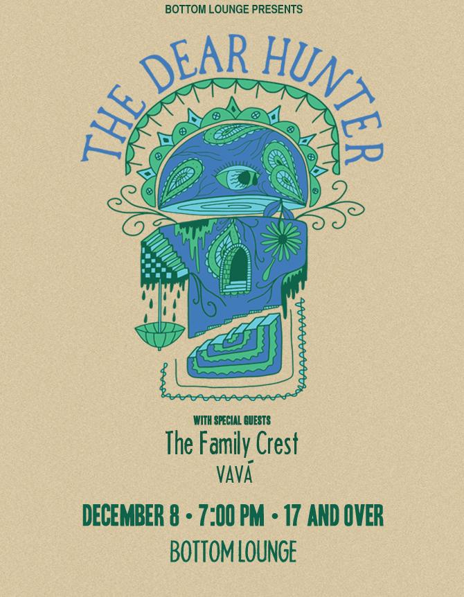 THE DEAR HUNTER * THE FAMILY CREST * VAVÁ