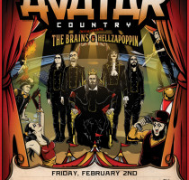 SOLD OUT! – AVATAR * THE BRAINS * HELLZAPOPPIN