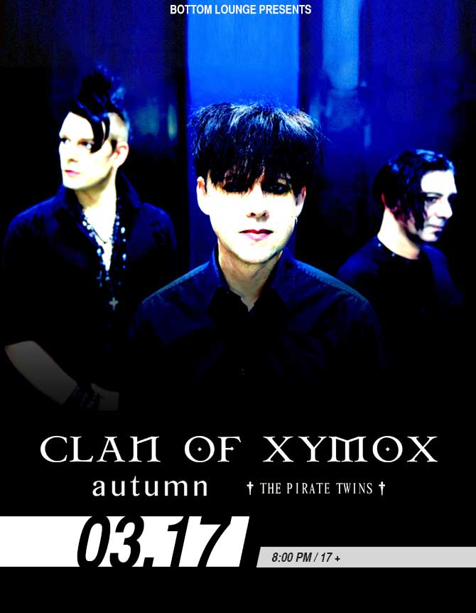 CLAN OF XYMOX * DECODED FEEDBACK * AUTUMN * THE PIRATE TWINS