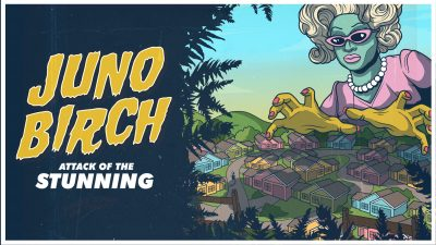 Juno Birch in attack of the Stunning